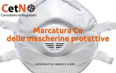 Marcatura CE mascherine protettive