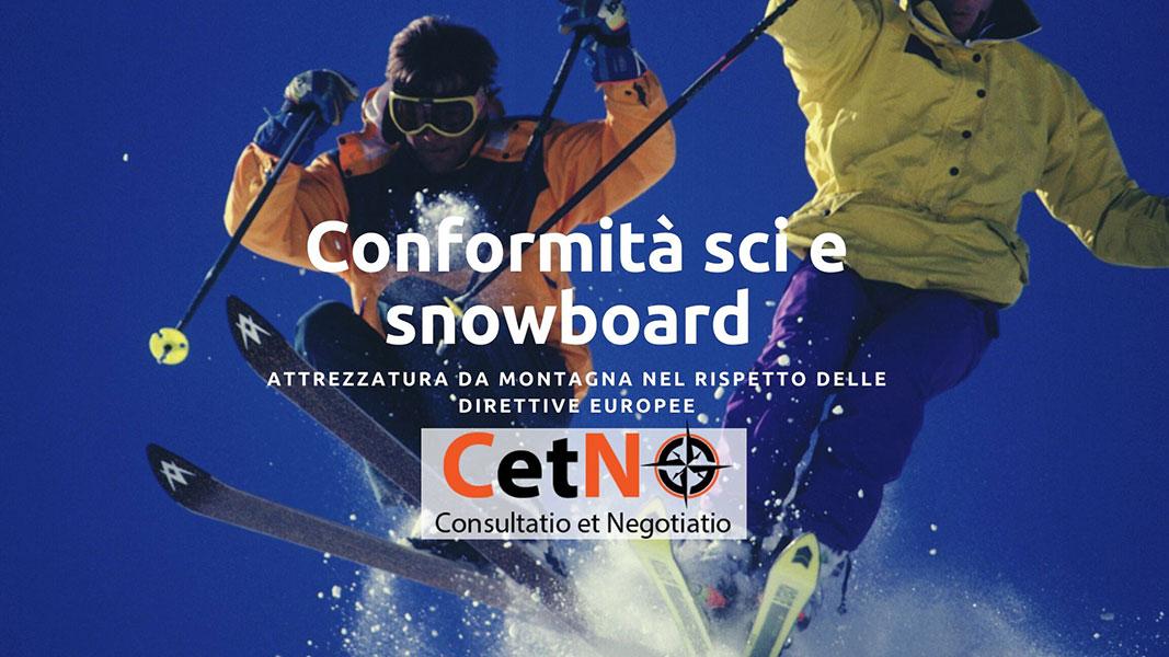 Conformità attrezzatura da sci e snowboard