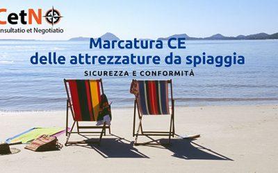 Marcatura CE delle attrezzature da spiaggia