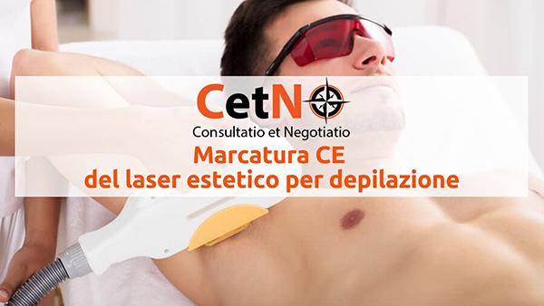 Marcatura CE del laser estetico per depilazione