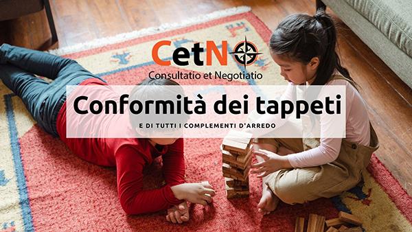 Conformità dei tappeti