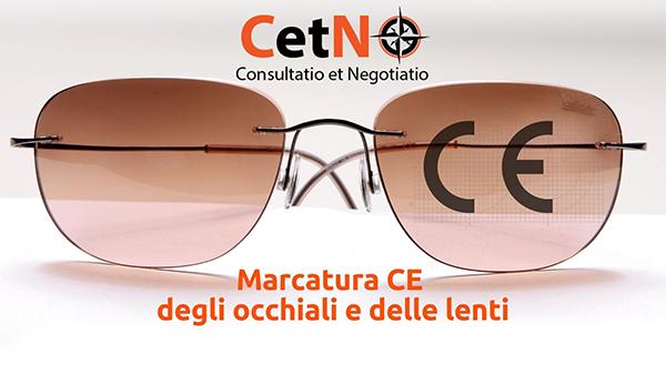 Marcatura CE degli occhiali