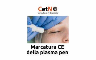 Marcatura CE plasma pen