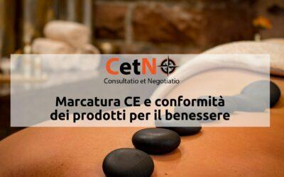 Marcatura CE prodotti benessere