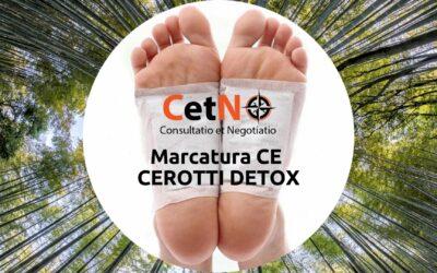 Marcatura CE cerotti detox
