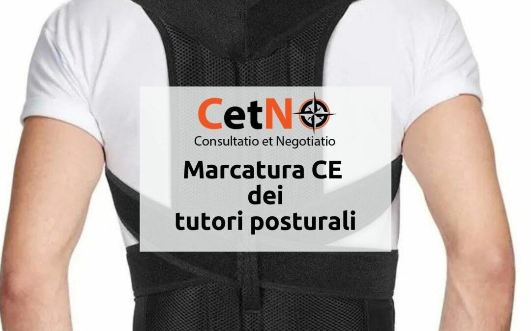 Marcatura CE tutori posturali